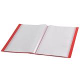 Carpeta Roja A4 con fundas